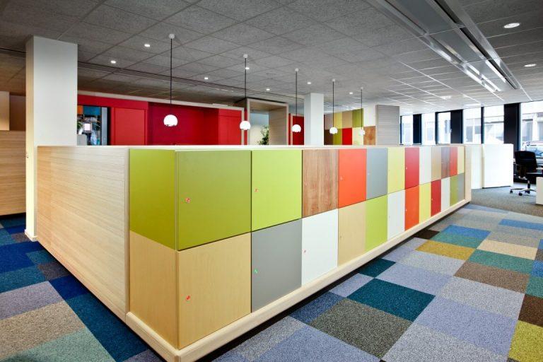 Bright Office Decor