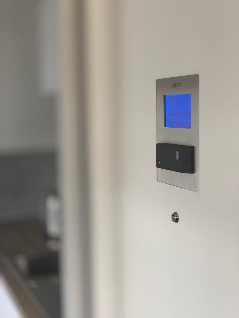 Simplicity Locker Control panel